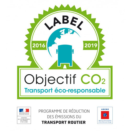 Label objectif co2 - logo