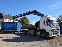 camion grue algeco strasbourg - Chalot