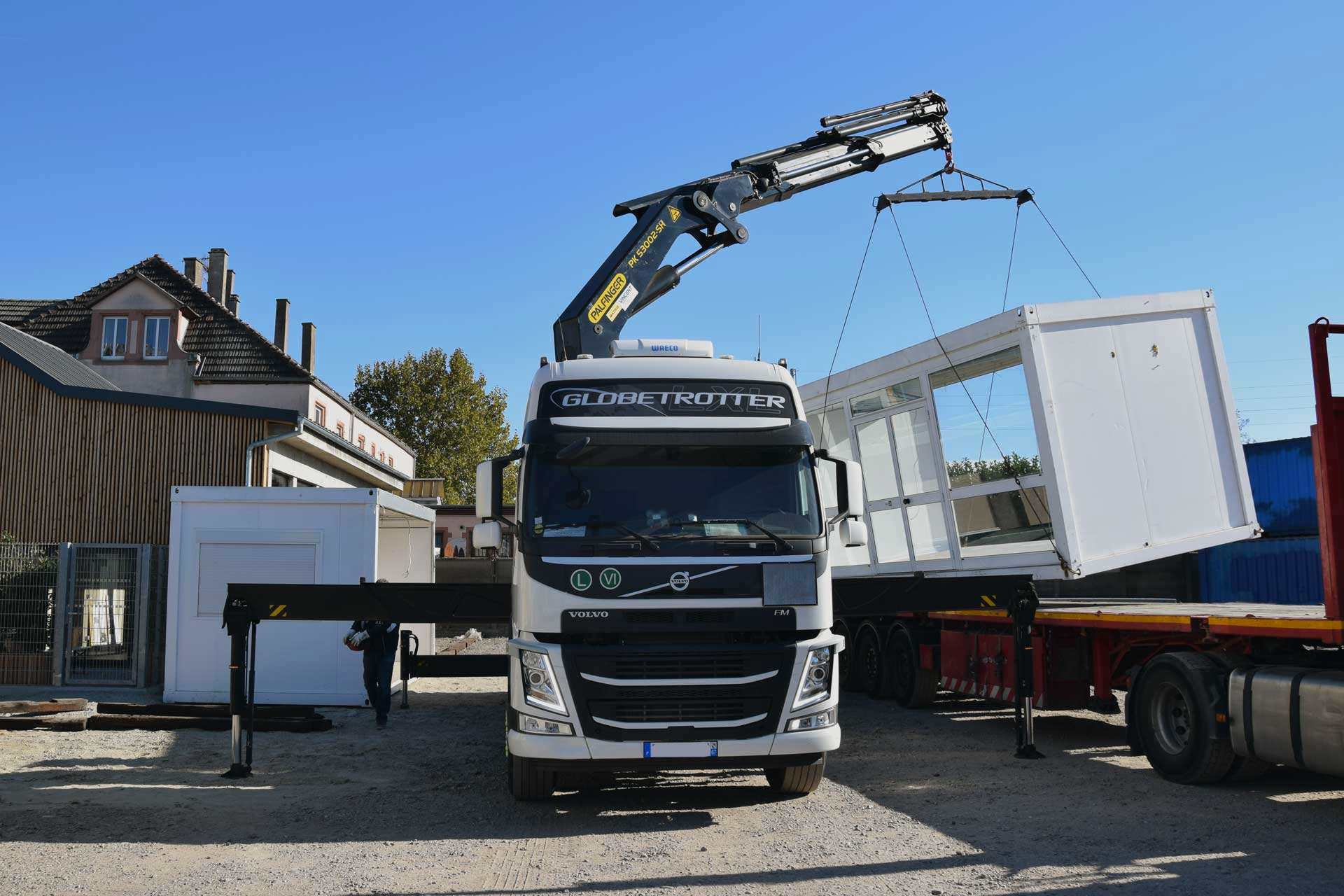 Chalot transport - Camion grue strasbourg