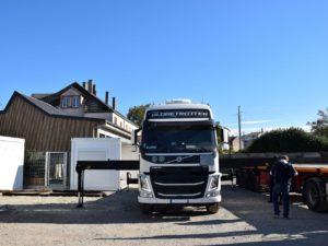 Société transports poids lourds - Alsace
